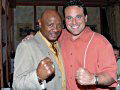 Chi Tony House with Boxing legend Marvin Hagler.