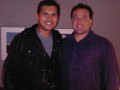 Adam Beach with Chi Tony House.
