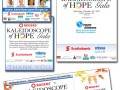 KOH Gala - Identity development, event promotion - newspaper ads, tickets and program.